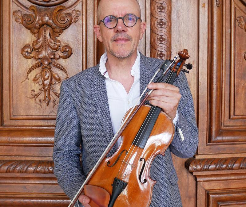 Gérard Vandenbroucque : notre violoniste